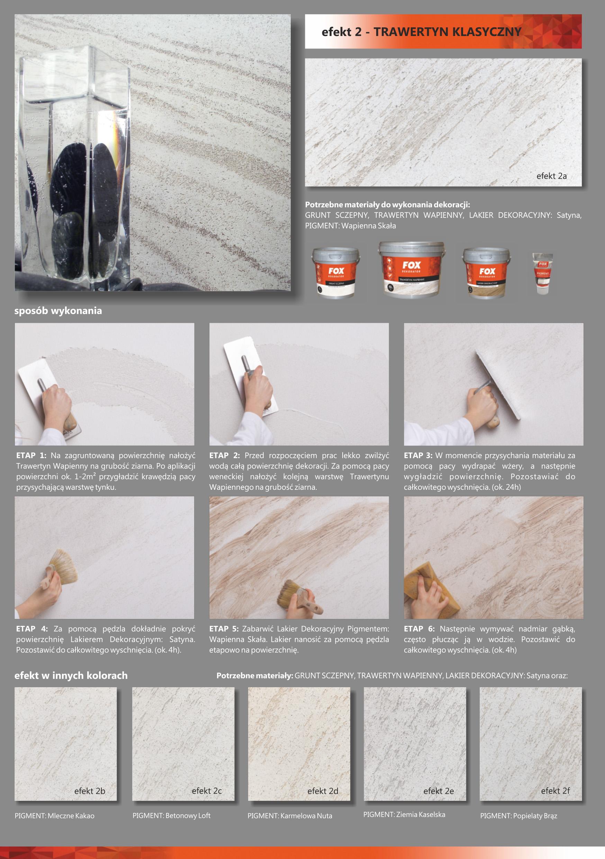Tynki I Farby Dekoracyjne Fox Anpol Płytki Ceramiczne